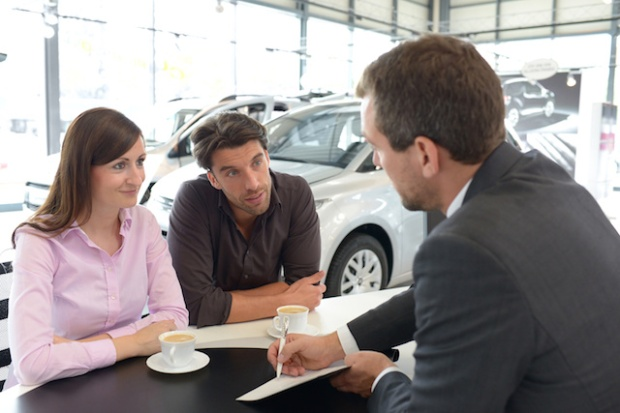 Sales talk in the car trade